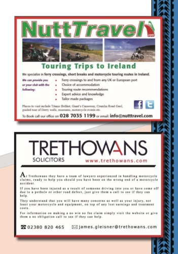 THE BIKER GUIDE - 7th edition, Touring Ireland, Motorbike Solicitors