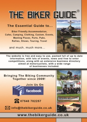THE BIKER GUIDE - 7th edition, The essential guide for owners of a Motorbik