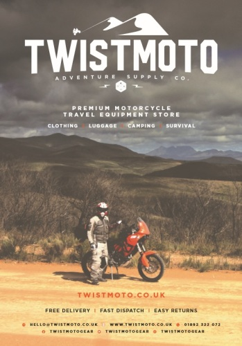 THE BIKER GUIDE - 7th edition, Twistmoto, Motorcycle Touring equipment