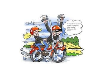 Rattlesden Bike Show, Suffolk - Motorbike show