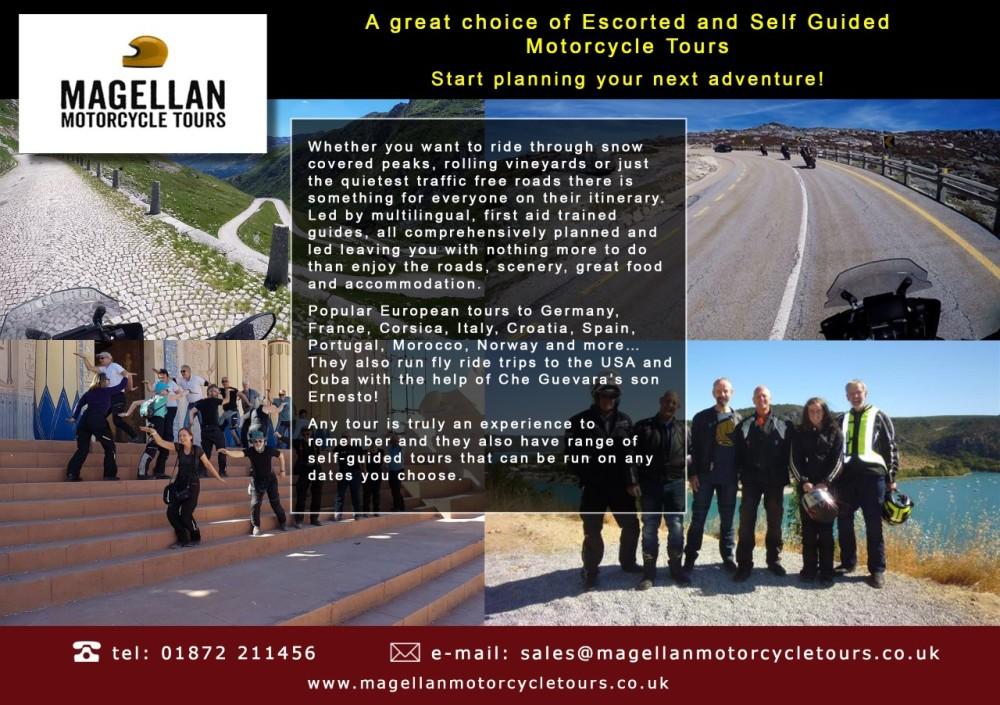 Magellan Motorcycle Tours, Croatia, Slovenia, Bosnia, Balkans, Portugal, Fr