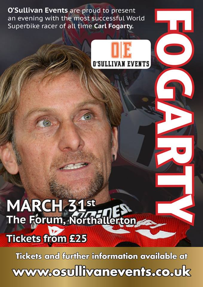 An Evening with Carl Fogarty 2018
