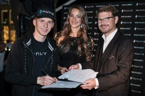 NUVIZ sign sponsorship deal with World Supersport racer Niki Tuuli