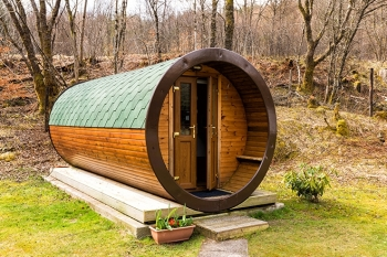Tyndrum By The Way, Hobbit houses, Perthshire