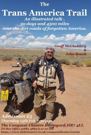 The Trans American Trail - Geoff McGladdery and John Roach
