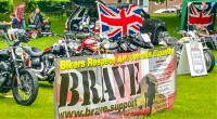 BRAVE - Bikers Respect All Veterans Equally fund raising organisation‎