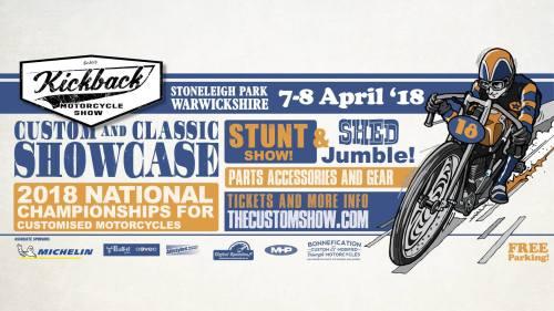 KICKBACK Motorcycle Show 2018
