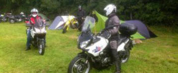 Bikers Campsite West Wales, Hard standing parking, Carmarthenshire