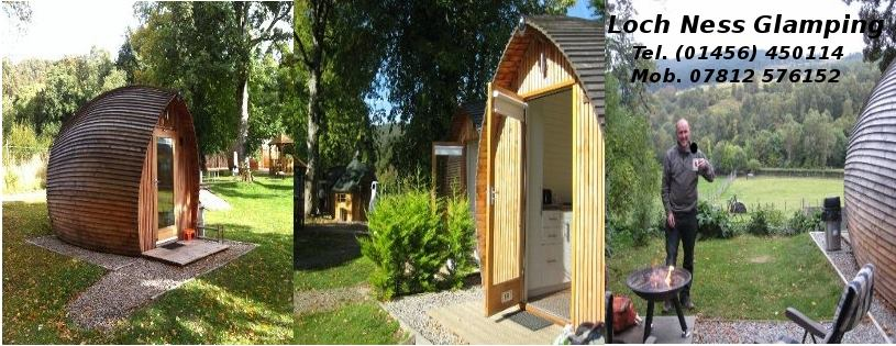 Loch Ness Glamping, Biker Friendly, Inverness, Highlands