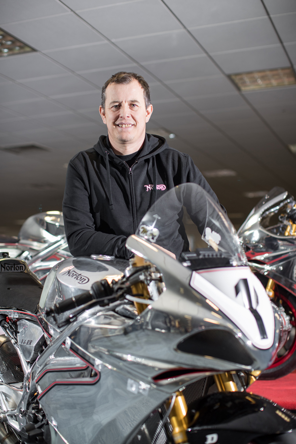 Norton signs John McGuinness for 2018 Isle of Man TT Races
