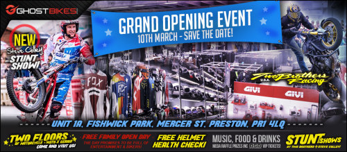 GhostBikes Grand Opening Event, motorcycle / motocross gear destination sto