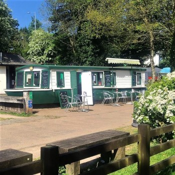 The Boat Yard Tea room, Bikers welcome, Pontymoile Basin, Pontypool, South