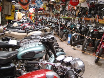 Craven Collection, Vintage motorcycles, related memorabilia, Yorkshire
