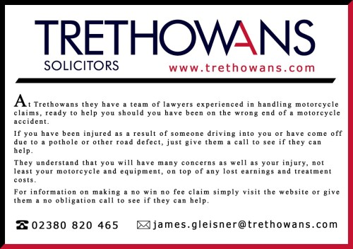 Trethowans LLP, Motorcycle Accident Solicitors, Compensation, England, UK,