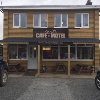 Chriss Cafe And Motel, Bikers welcome, High Wycombe, Buckinghamshire