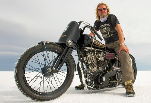 Kickback will be televised for The Motorbike Show - presented by Henry Cole