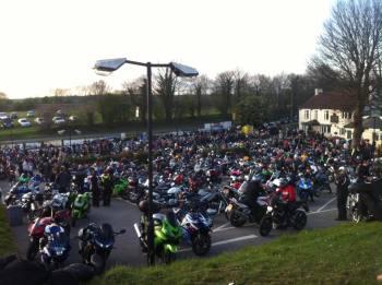 Squires Cafe Bar, South Yorkshire, Biker Cafe