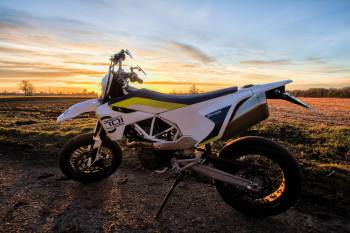 Supermoto feature road tyres and soft suspension set-ups that make them sui