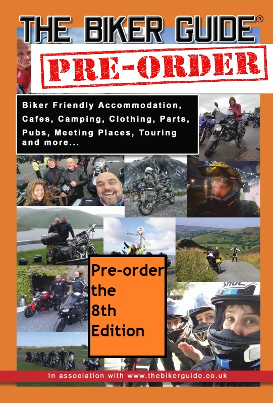 THE BIKER GUIDE booklet - Pre-order the 8th edition