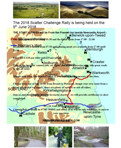 Northumberland Borders Rally - Scatter Challenge - Mingle with other like-m