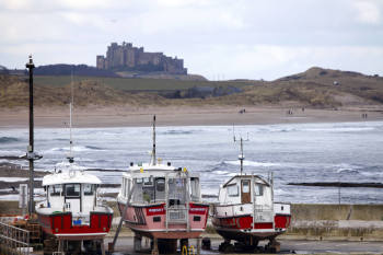The Links Hotel, Bikers Welcome, Seahouses, Northumberland, Farne Islands