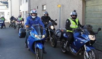 Pitcairn House, sunny day Motorcycle Ride, Keswick, Cumbria