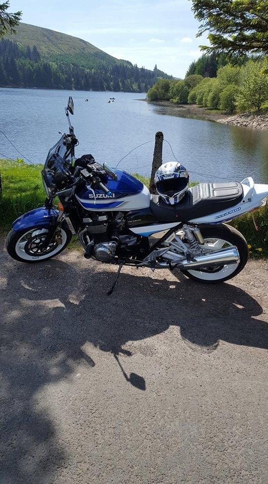 My Gsx1400 in Pontsticyll near Merthyr Tydfil - Antony Baker