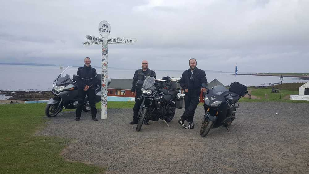 At John OGroats, taken during a trip around the NC500 - Barry Holt