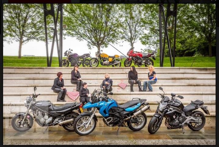 Curvy Riders Motorcycle Club - Debbie Boardman