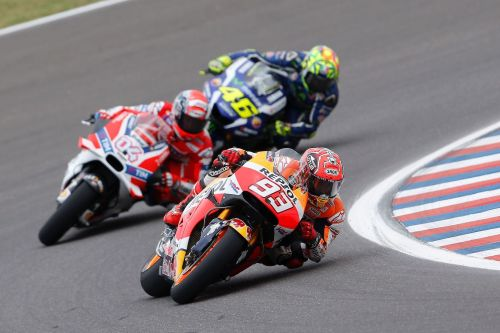 Honda and Ducati Bringing the MotoGP Tussle to the Boil