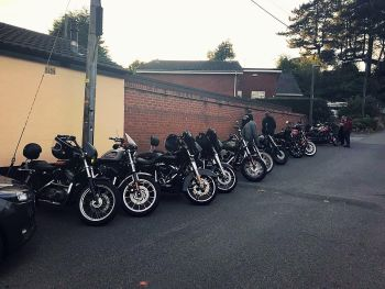 The Anchor Inn, Bike Night, Kidderminster, Worcestershire