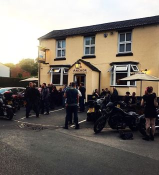 The Anchor Inn, Bike Night Wednesday, Kidderminster, Worcestershire