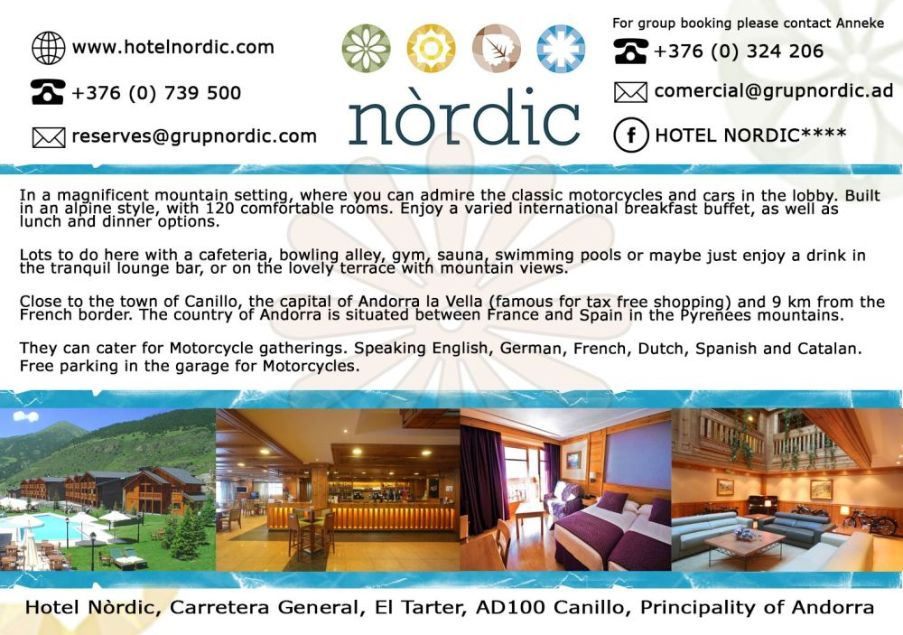 Hotel Nordic - 6th edition half page