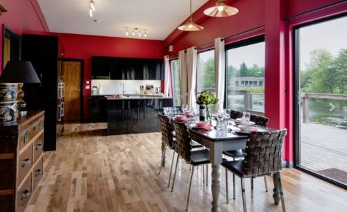 Brompton Lakes, Biker Friendly, Lodges, Richmond, view
