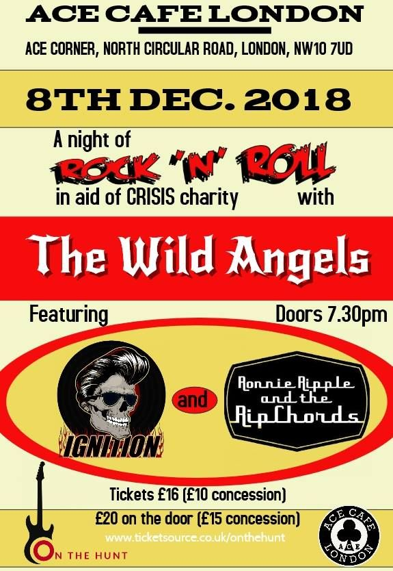 CRISIS Rock n Roll Charity Gig