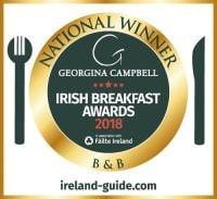 Best Irish BB Breakfast - Failte Ireland and Georgina Campbell awards