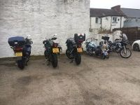 The Kings Arms, Bikers welcome, Castle Douglas, Galloway, Scotland
