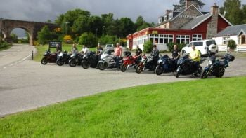 Invershin Hotel Bunkhouse, Bar, Biker Friendly, NC500, Lairg, Sutherland