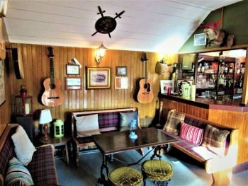 Invershin Hotel Bunkhouse, Bar, Bikers Welcome, NC500, Sutherland