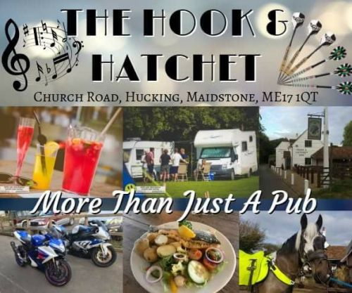 Hook and Hatchet Inn, Biker s Welcome, pub, Maidstone, Kent