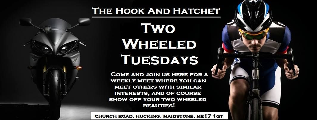 Hook and Hatchet Inn, Two Wheeled Tuesdays Bike meet, Kent