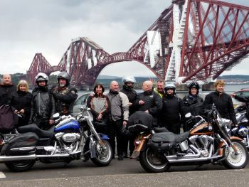 Hadrian V-Twin Tours, Thunder In The Glens HOG Rally, Scotland Touring