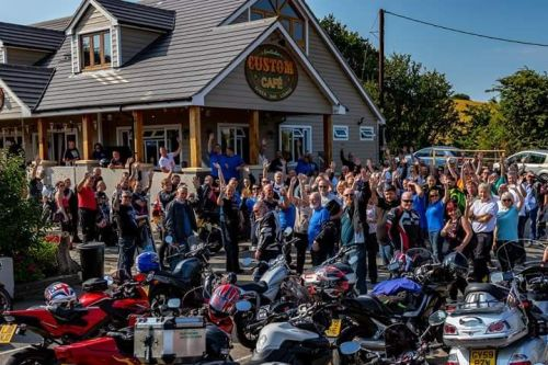 The Custom Cafe, Bikers welcome, Bexhill-on-Sea, East Sussex