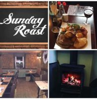 The Shepherds Rest, Bikers Welcome, Sunday Roast, Alnwick, Northumberland