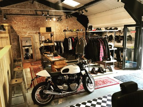 Bikes and Blades, Motorcycle Clothing, Coffee, Barbers, Warrington, Cheshir