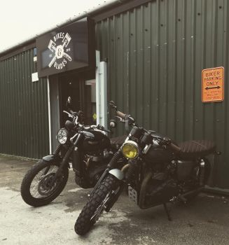 Bikes and Blades, Motorcycle Clothing, Barbers, Coffee, Warrington, North W