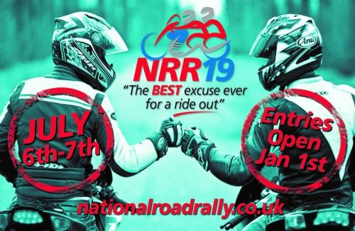National Road Rally, The BEST excuse ever for a ride out, multiple Start po