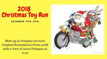 Eastbourne and Hastings Santa Toy Run