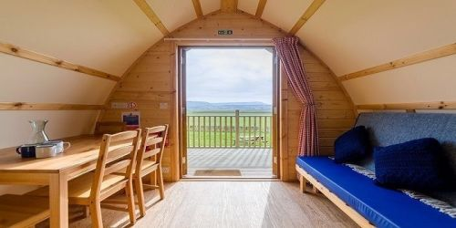Mains Farm Wigwams, Biker Friendly, Stirling, Central Scotland