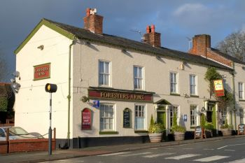 Foresters Arms, Biker Friendly, Tarporley, Cheshire